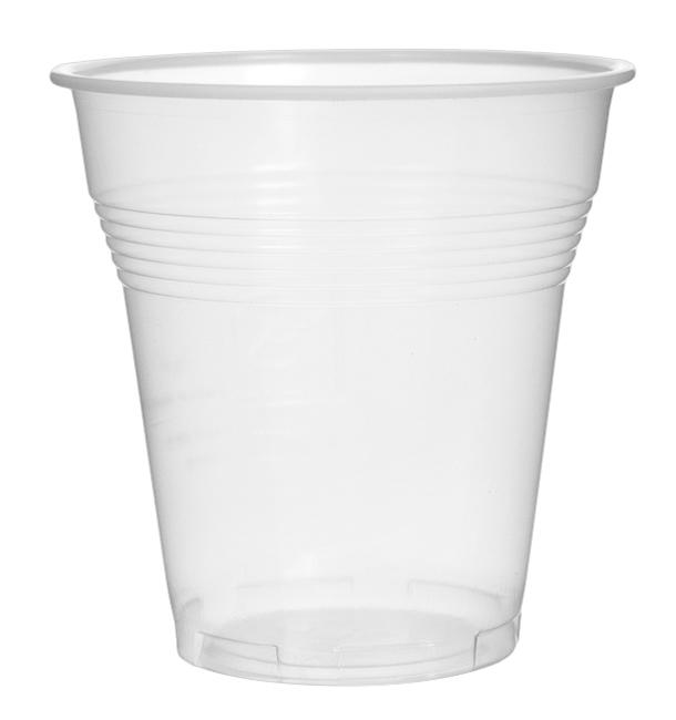 """Plastikbecher Transp. """"Vending"""" PS 160ml (100 Stück)"""