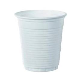 Plastikbecher PS Weiß 166ml Ø7,0cm (100 Stück)