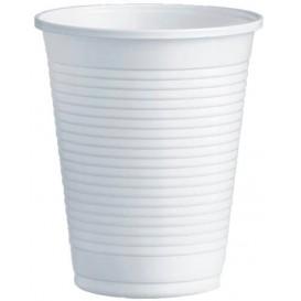 Plastikbecher PS Weiß 200ml Ø7,0cm (100 Stück)