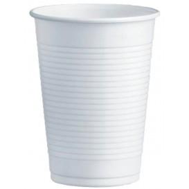 Plastikbecher PS Weiß 230ml Ø7,0cm (100 Stück)