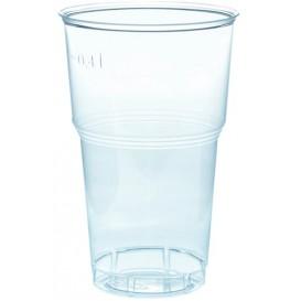 Plastikbecher Transparent PS 490ml Ø9,0cm (40 Stück)