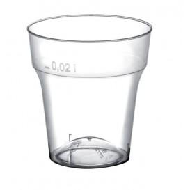 Plastikbecher für Schnaps Moon Transp. 20ml (50 Stück)