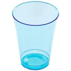Plastikglas, gespritzt, türkis 230ml (10 Stück)