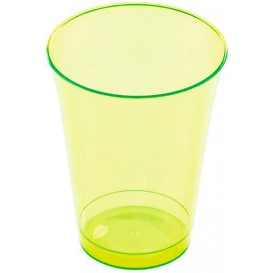 Plastikglas, gespritzt, grün 230ml (10 Stück)