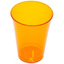 Plastikglas, gespritzt, orange 230ml (10 Stück)