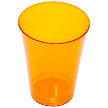 Plastikglas, gespritzt, orange 230ml (150 Stück)