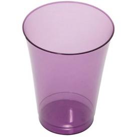 Plastikglas, gespritzt, aubergine 230ml (10 Stück)
