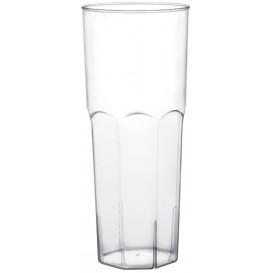 Plastikbecher Long Drink Transp. PS Ø65mm 350ml (10 Stück)