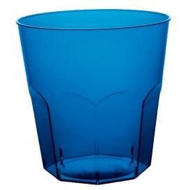 Plastikbecher BlauTransp. PS Ø73mm 220ml (500 Stück)