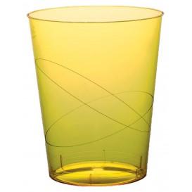 Becher aus Hartplastik Moon Gelb Transp. PS 350ml (20 Stück)