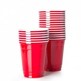 Plastikbecher Rot 360ml (1.000 Stück)