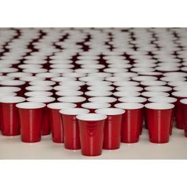 Plastikbecher Rot 470ml (1.000 Einheiten)
