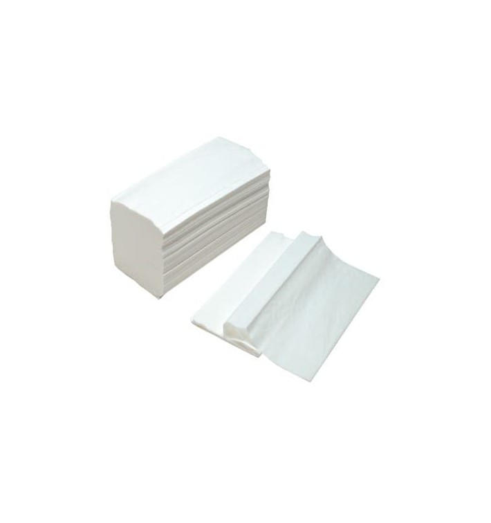 Papierhandtücher Tissue Weiß 2 Lagig Z (3.000 Stück)