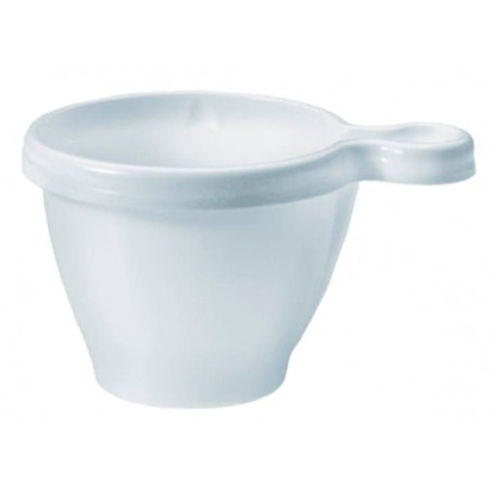 Plastiktasse PS Weiß 170ml (50 Stück)