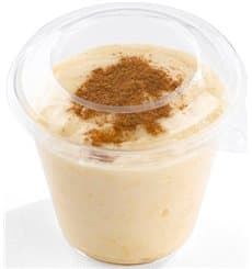 Dessertglas aus Plastik für Eis 230ml (25 Stück)