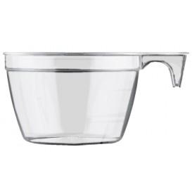 Plastiktasse Cup Transparent 90ml (50 Stück)
