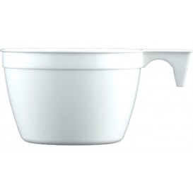 Plastiktasse Cup Weiß PP 90ml (50 Stück)