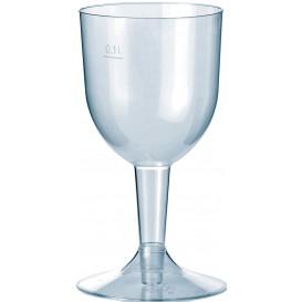 Weinglas Plastik Spritzguss 140ml (500 Stück)