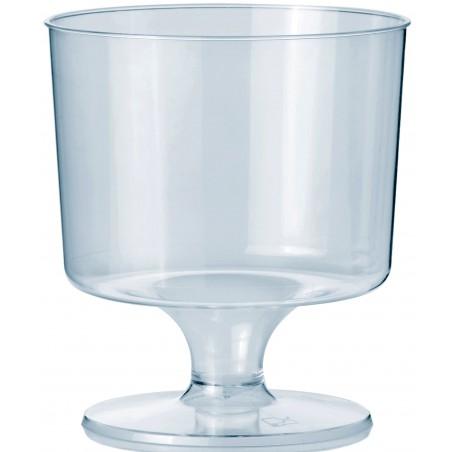 Glas aus Plastik mit Fuβ 170ml (540 Stück)