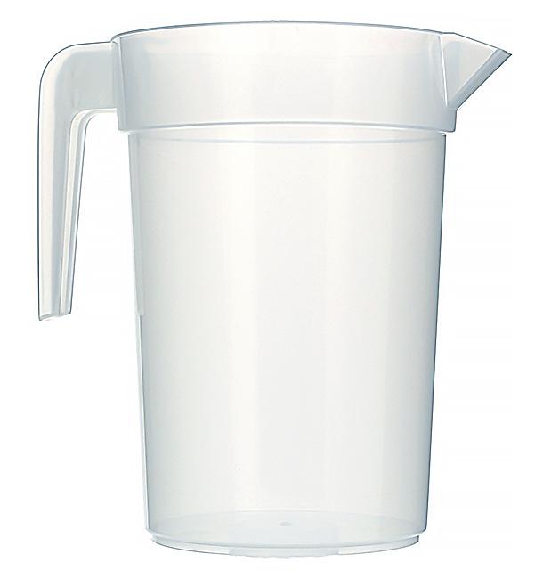 Plastikkrug 1.000ml Extra-Robust (10 Stück)