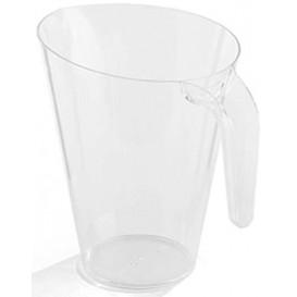 Plastikkrug 1.500ml Transparent Mehrweg (1 Stück)