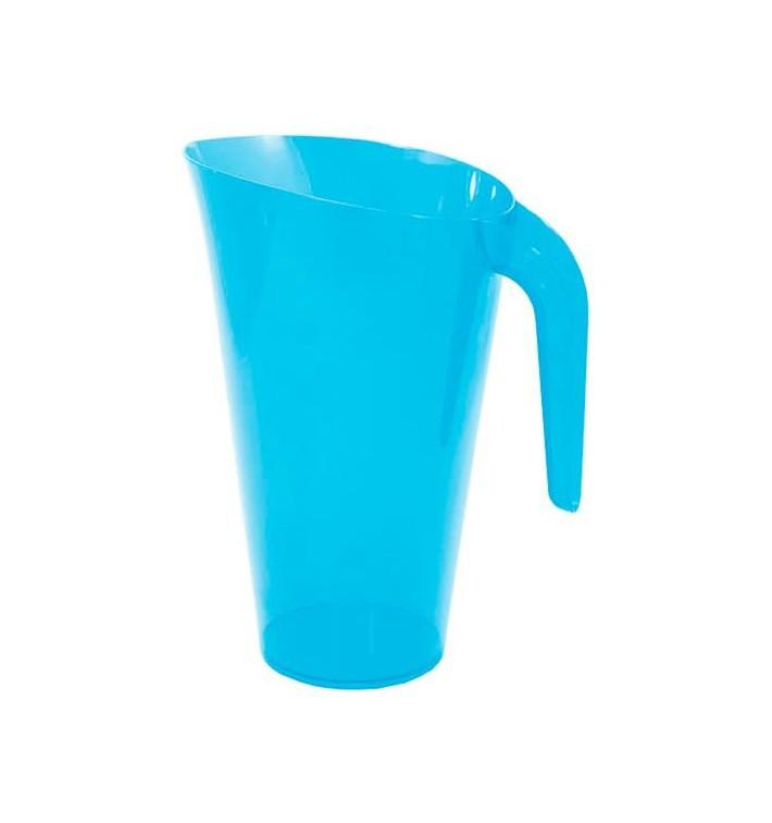 Plastikkrug 1.500ml Mehrweg türkis (20 Stück)