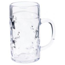 Bierkrug für Bier Transp. Ø77mm 500ml (6 Stück)