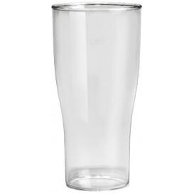 Plastikbecher für Bier SAN Mehrweg 400ml (5 Stück)