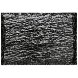 Tablett Schieferoptik 130x90 mm (20 Stück)