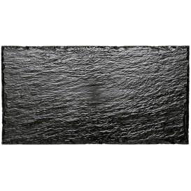 Tablett Schieferoptik 300x158 mm (10 Stück)
