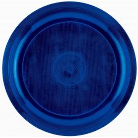 Plastikteller Rund Blau Round PP Ø290mm (150 Stück)