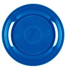 Plastikteller Blau Meerblau Round PP Ø185mm (600 Stück)