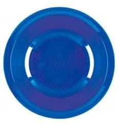 Plastikteller Tief Meerblau Round PP Ø195mm (50 Stück)