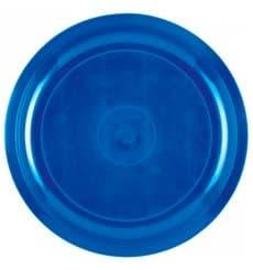 Plastikteller Meerblau Round PP Ø290mm (25 Stück)