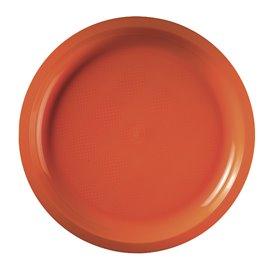 Plastikteller Rund Orange Round PP Ø290mm (25 Stück)