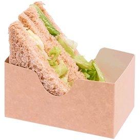 Verpackung für Sandwich Kraft (25 Stück)