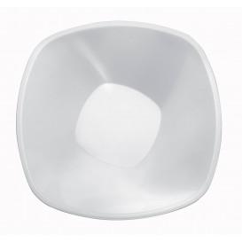 Plastikschale Rund Weiß Square PP Ø210mm 1250ml (3 Stück)