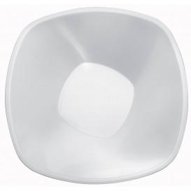 Plastikschale Rund Weiß Square PP Ø277mm 3000ml (3 Stück)
