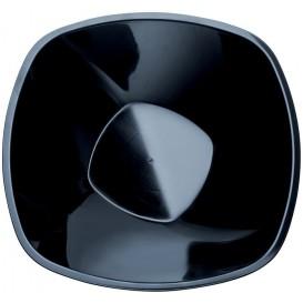 Plastikschale Rund Schwarz Square PP Ø277mm 3000ml (15 Stück)