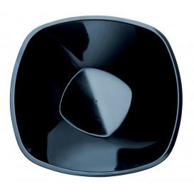 Plastikschale Rund Schwarz Square PP Ø210mm 1250ml (3 Stück)