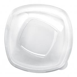Plastikdeckel Transp für Schale Square PET 210mm (3 Stück)