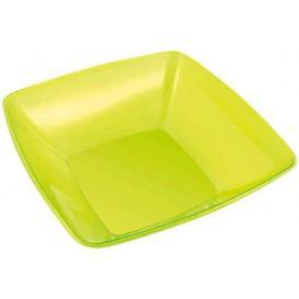 Viereckige Plastikschale grün 28x28m (1 Stück)