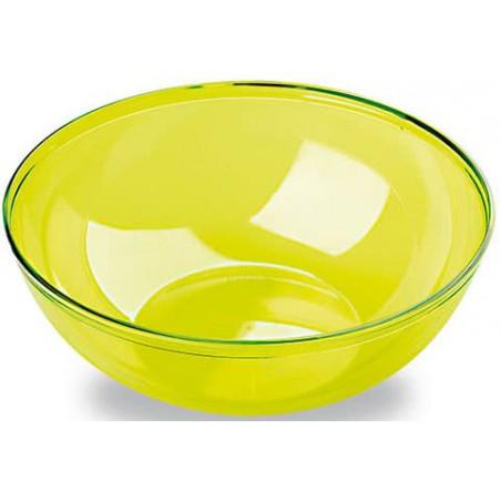 Plastikschale PS Glasklar Hart Grün 3500ml (20 Stück)