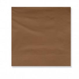 Papierservietten Braun 2L 30x30cm (4500 Stück)