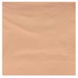 Papierservietten Creme 2L 40x40cm (50 Stück)