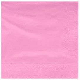 Papierservietten Pink 2L 40x40cm (50 Stück)