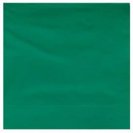 Papierservietten Grün 2L 25x25cm (100 Stück)