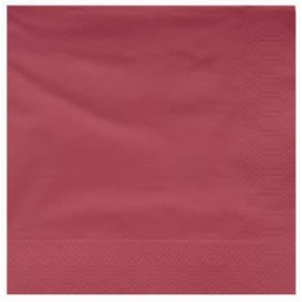 Papierservietten 2L Bourdeaux 25x25cm (3600 Stück)