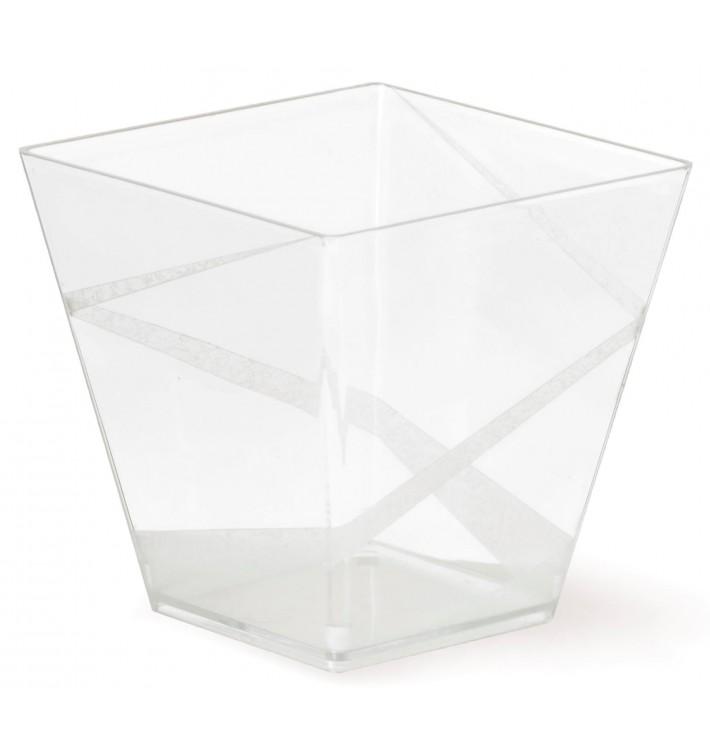 "Plastikbecher Präsentation "" Decó"" Transp.200cc (400 Stück)"