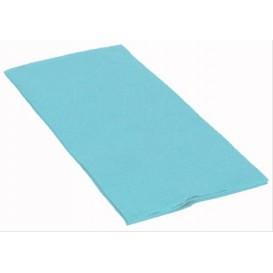 Papierservietten Hellblau 40x40cm 1/8 2-lagig (1200 Stück)